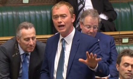 UK Political Party leader says 'being gay is not a sin'