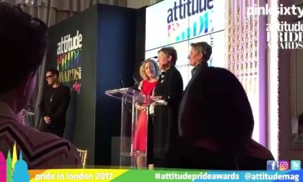 Attitude Magazine Pride Awards: Booan Temple