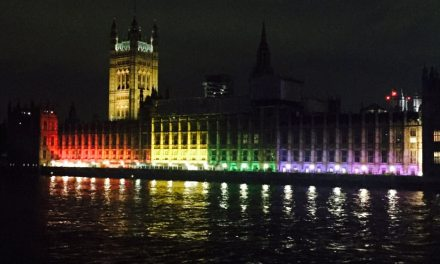 Westminster Lights Up in the Rainbow Colours for the First Time to Celebrate London Pride