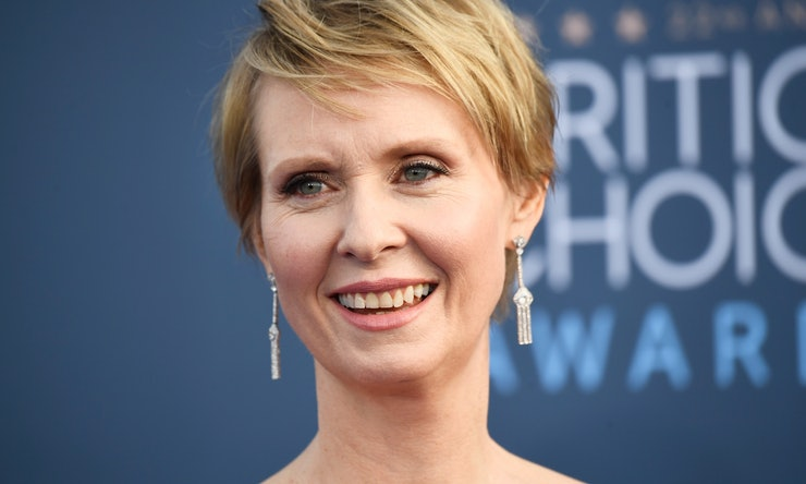 'Sex & The City' Star Cynthia Nixon Might Run For New York Governor