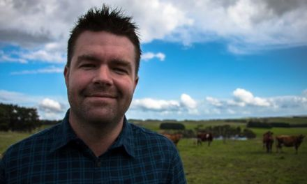GAY FARMER NAMED YOUNG FARMER OF THE YEAR
