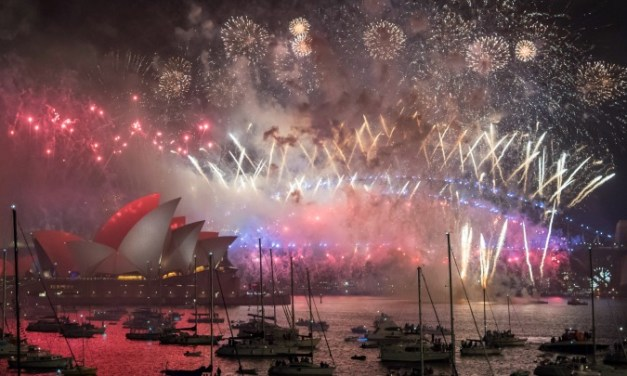 Sydney Does New Year in Equal Marriage Fireworks Style