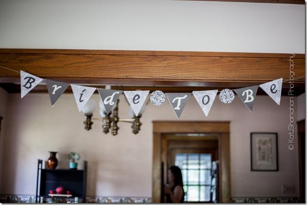 Little Black Dress Bridal Shower Theme    Photos by Kat Shanahan Photography