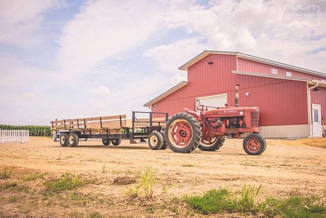 Vesperman Farms Wedding Hay Rides