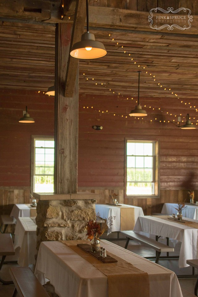 Vesperman Farms Wedding Reception