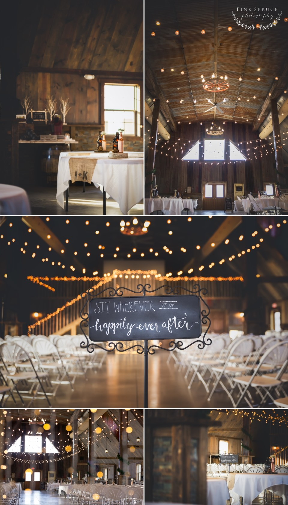 Rustic Winter Wedding at Pedretti's Party Barn, Viroqua, WI | Photography by: Pink Spruce Photography www.pinksprucephotography.com | Lesbian Wedding, Same Sex Wedding, Wisconsin Wedding