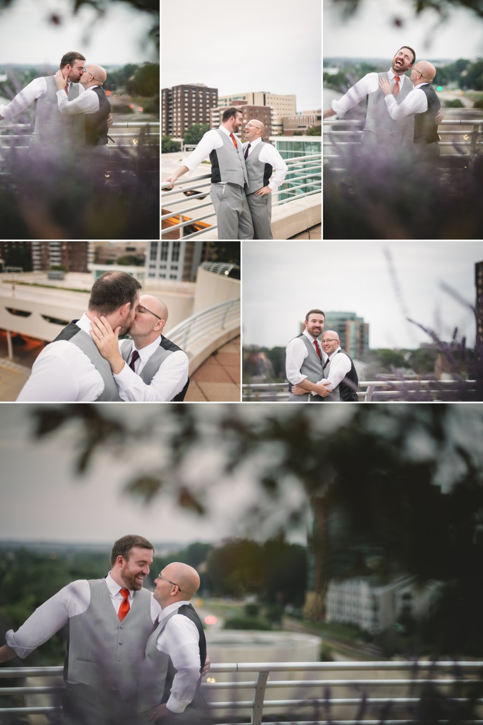 Sunset LGBTQ Wedding Photos | Pink Spruce Photography | www.pinksprucephotography.com