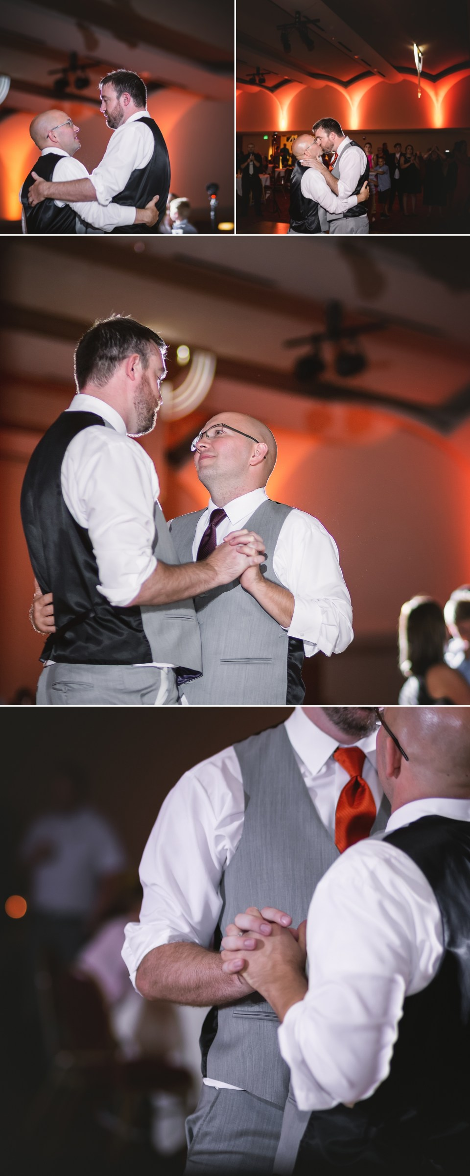 LGBTQ First Dance at The Monona Terrace in Madison, WI | Pink Spruce Photography | www.pinksprucephotography.com