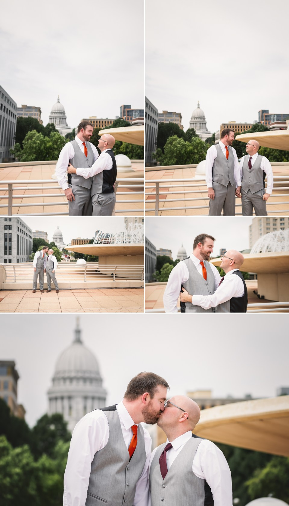 LGBTQ Wedding at The Monona Terrace in Madison, WI | Pink Spruce Photography | www.pinksprucephotography.com