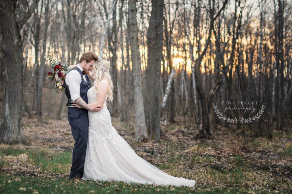 Rustic Outdoor Wedding at Dixon's Apple Orchard · Cadott, Wisconsin | Danielle + Tyler