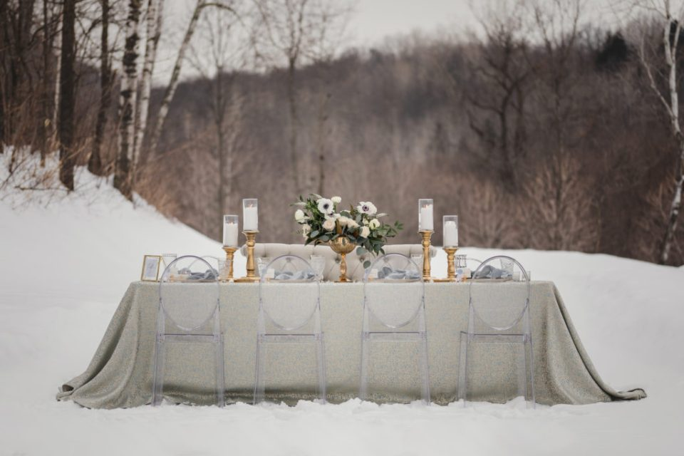 The Wedding Magazine Winter Wedding Inspiration - Styled Shoot | A Winter's Tale - Copyright Pink Spruce Photography 2019