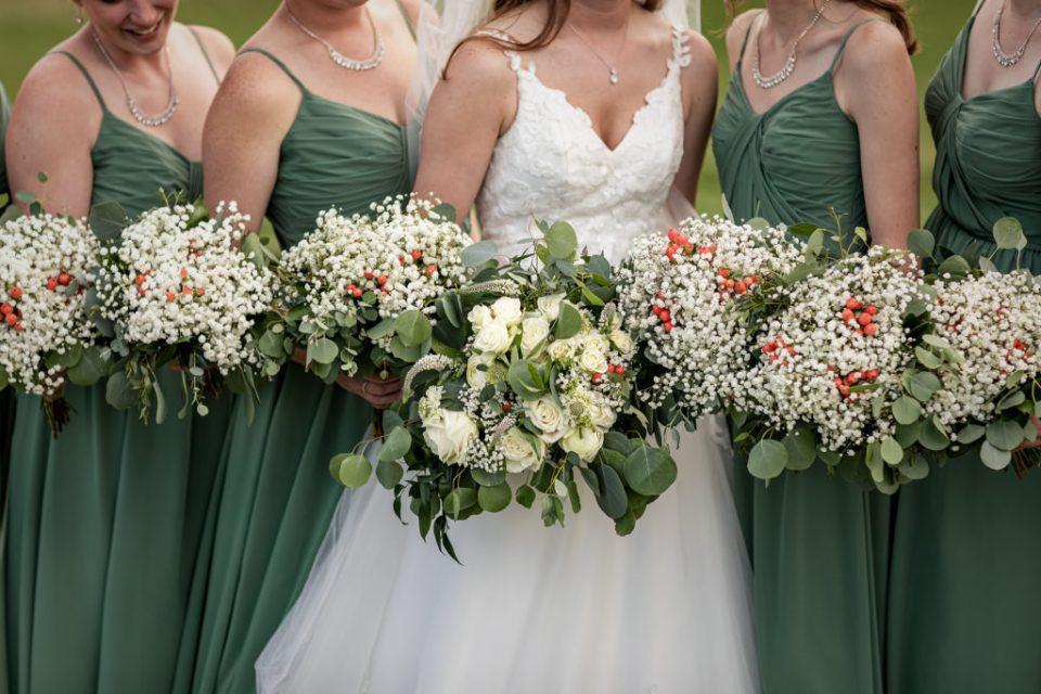 Rustic Farm Wedding at The Waumandee House | Dori + Logan | Pink Spruce Photography - Waumandee, WI Wedding Photographer