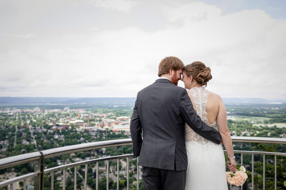 Micro Wedding at Granddad Bluff · Kassie + Austin · La Crosse, WI Elopement Photographer