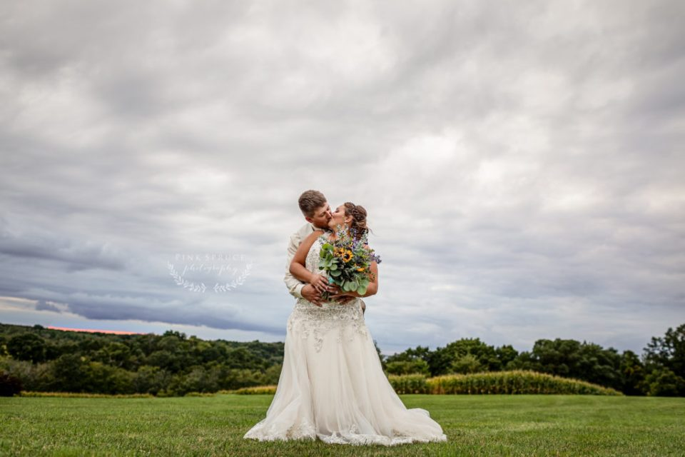 Family Farm Wedding in Fountain City Wisconsin · Bethany + Ethan   Wisconsin Wedding Photographer