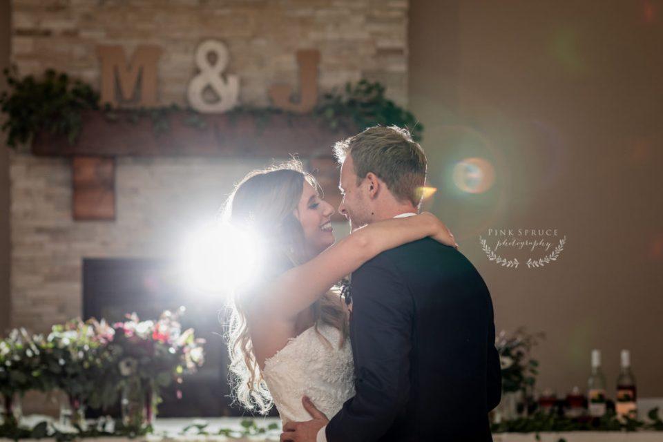 Wedding First Dance at Winnebago Springs · McKennah + Jacob   Caledonia MN Wedding Photographer