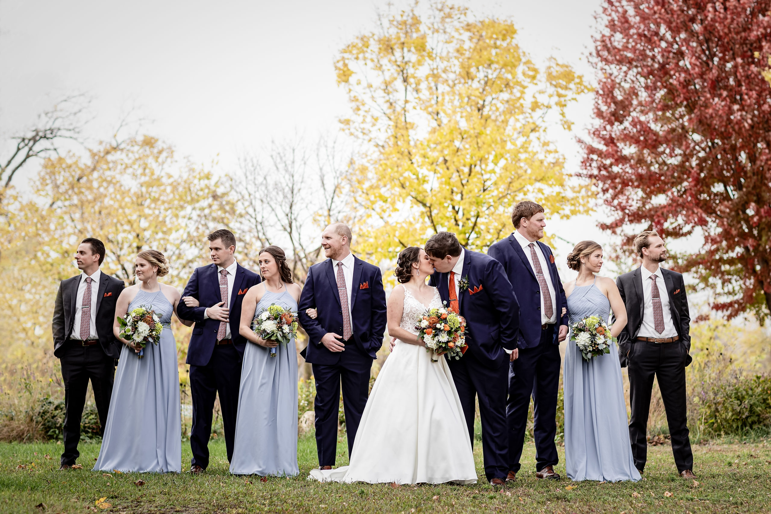 Myrick Park Wedding in La Crosse Wisconsin · Laura + Connor | Pink Spruce Photography