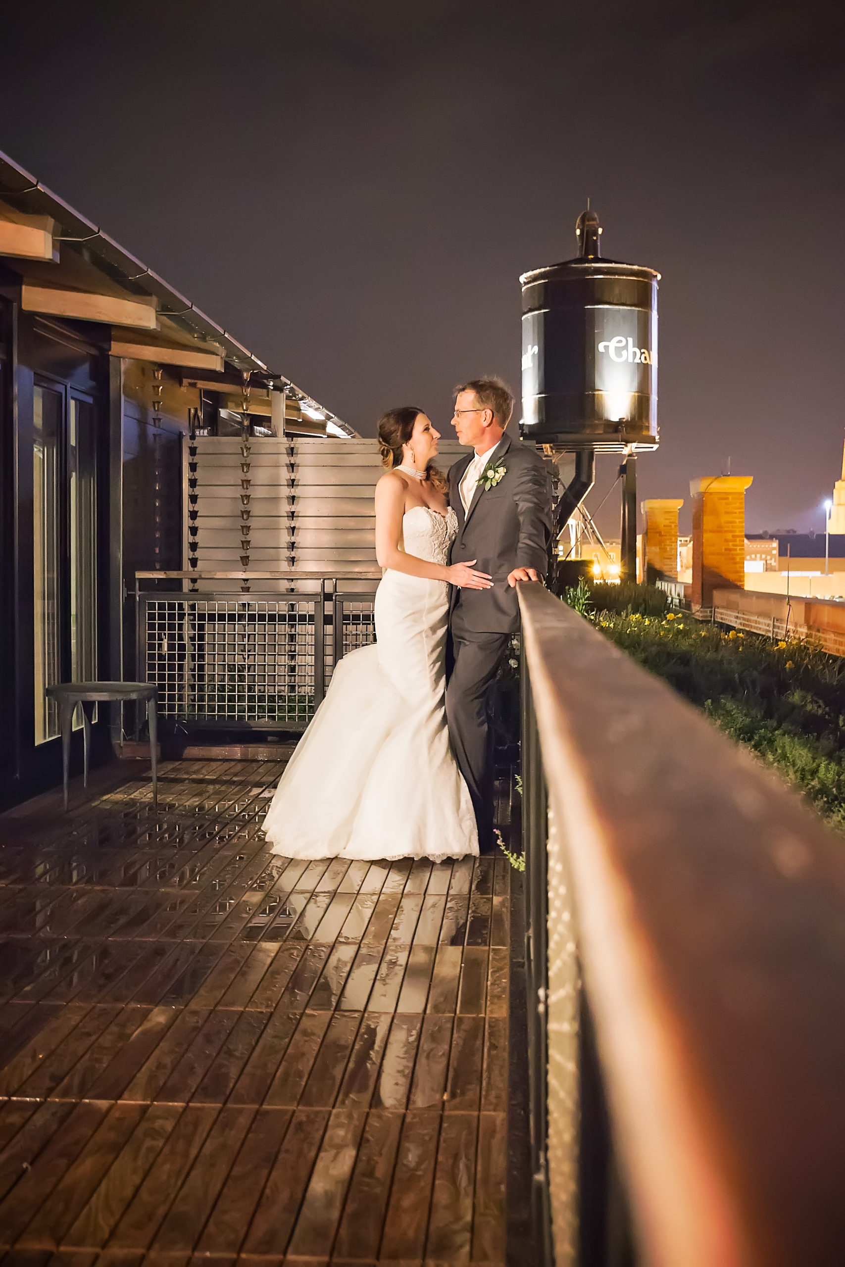 Twilight Session with Pink Spruce Photography at The Charmant in La Crosse, WI