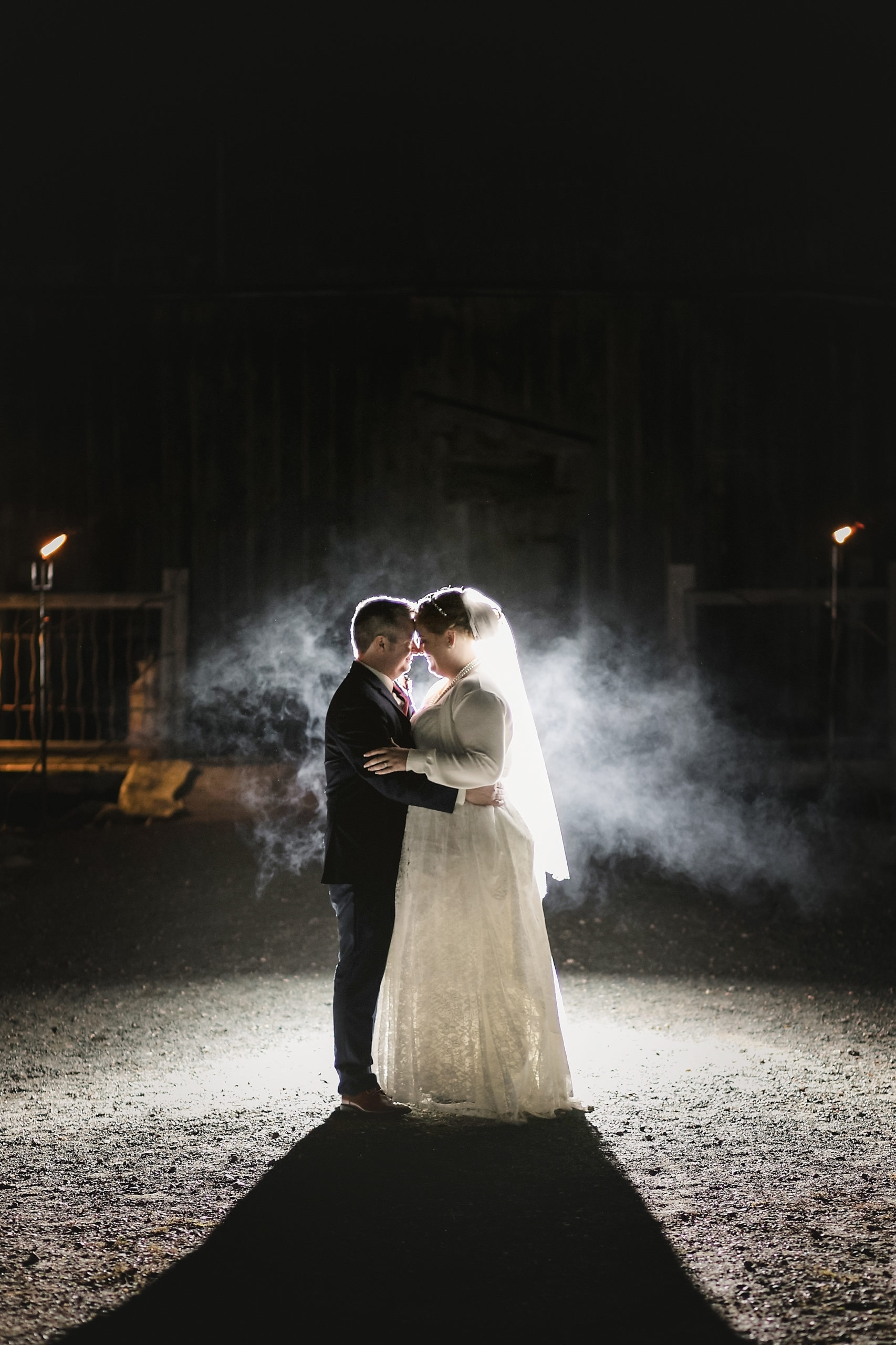 Twilight Session with Pink Spruce Photography at The Enchanted Barn