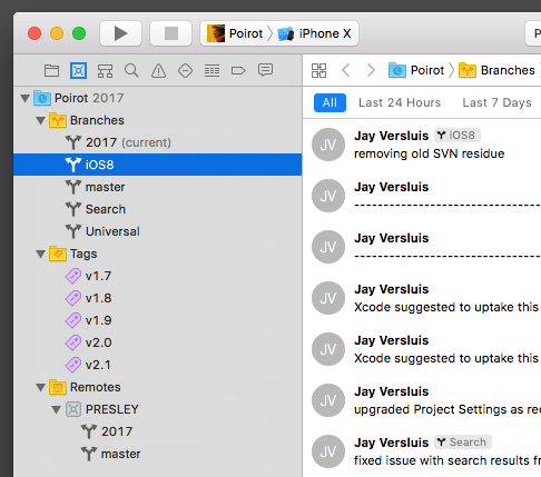 How to use Version Control since Xcode 9 | iOS Dev Diary