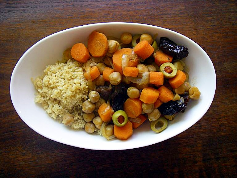 Carrot and Chickpea Tagine