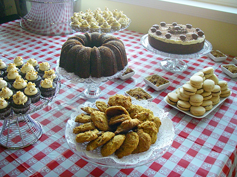 The Dessert Spread, before party