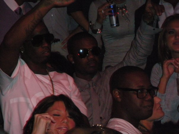 P. Diddy at Tao