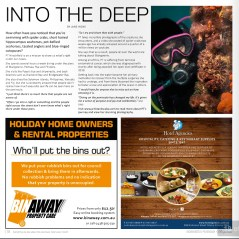 31 July 2015 Mornington Peninsula Magazine Into the Deep (Feature Article)