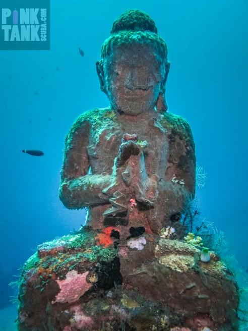 LOGO Meditating Statue