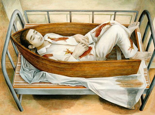 Painting by Tetsuya Ishida --
