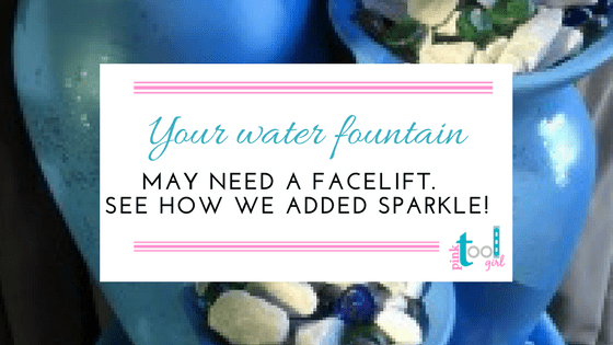 Water Fountain Makeover