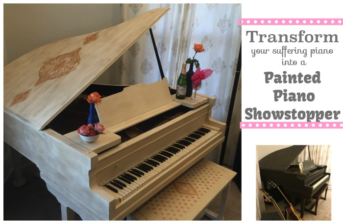 painted piano showstopper