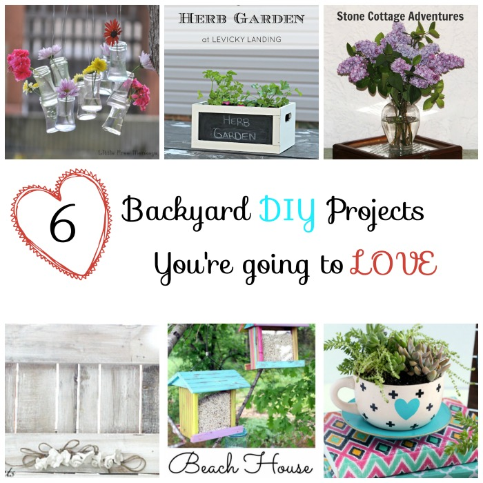 6 backyard diy projects you're going to love- week 1 Features