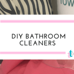 Homemade Bathroom Cleaner + A Little Bird Told Me Link Party #5