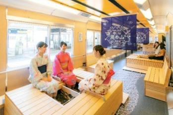 【日本旅遊】列車裡也能享受足湯?!果然沒什麼能阻擋日本人愛溫泉的心,「足湯列車」將於近鉄名古屋站到湯之山温泉站間運行~