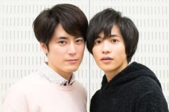 """【訪問】這兩位超可愛的~ 間宮祥太朗&志尊淳距離太近,讓大家直呼""""好奇怪""""~"""