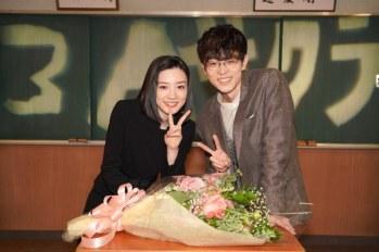 【3年A班】永野芽郁身穿喪服迎接最後拍攝~ 菅田将暉登場獻花。