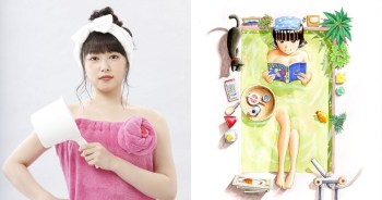 櫻井日奈子挑戰泡澡極限!確定主演深夜劇「泡澡女孩」。