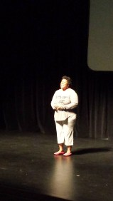 Powerful, emotional scene delivered by Dineta Williams-Trigg.