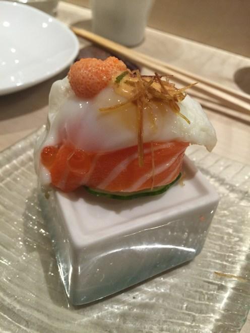 Salmon/Quail Egg/Uni