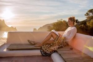 Ibiza bei Sonnenuntergang