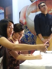 Sue Ramirez, Meet and Greet Travel Tour Expo, Korea Tourism PAvilion