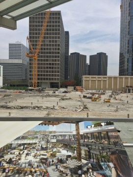 Century City under construction