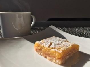 Glutenfree lemon bar from Lilac Patisserie