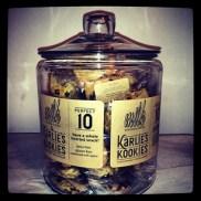 karliekloss #KarliesKookies are katering backstage at @MichaelKors today...Come backstage for a kookie! Kookies for breakfast! #MBFW #NYFW