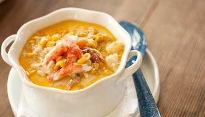 Crab Amp Sweet Corn Chowder