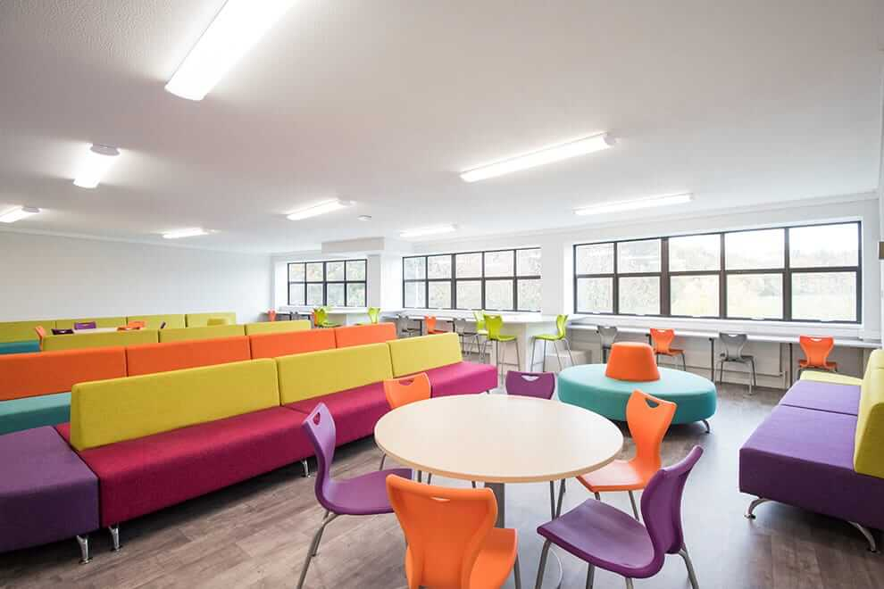 chairs for girls kitchen chair covers cork dr challoner's high school | case studies pinnacle furniture