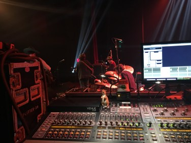 Monitor Engineering for Andrew Combs at Hoyt Sherman Theater
