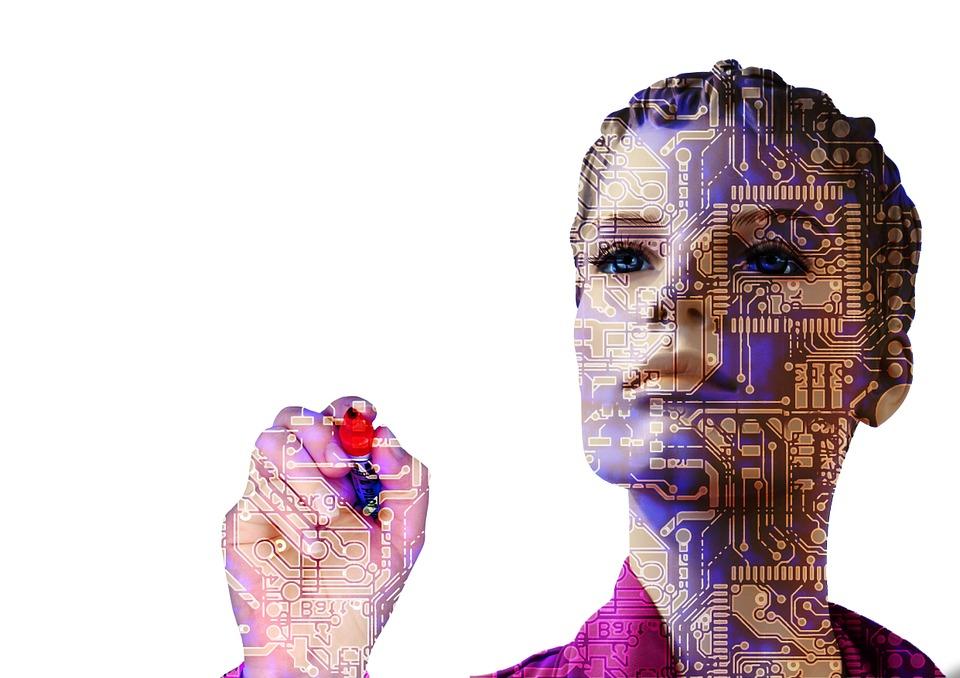 artificially intelligent robot woman