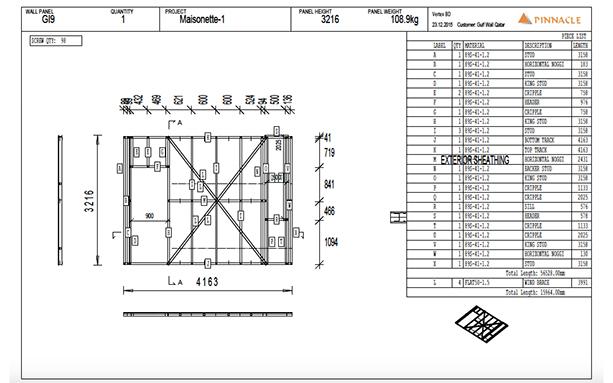 - Structural Steel Design,3D Modeling, Panel Detailing