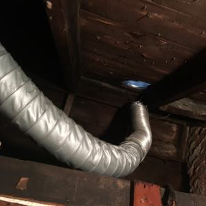 disconnected vent